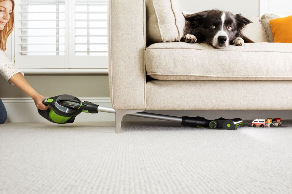 The Gtech Pro is simple to transform from an upright into handheld vacuum