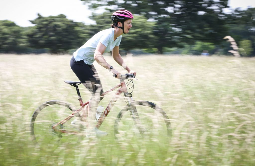 Pedal faster or increase resistance for great legs