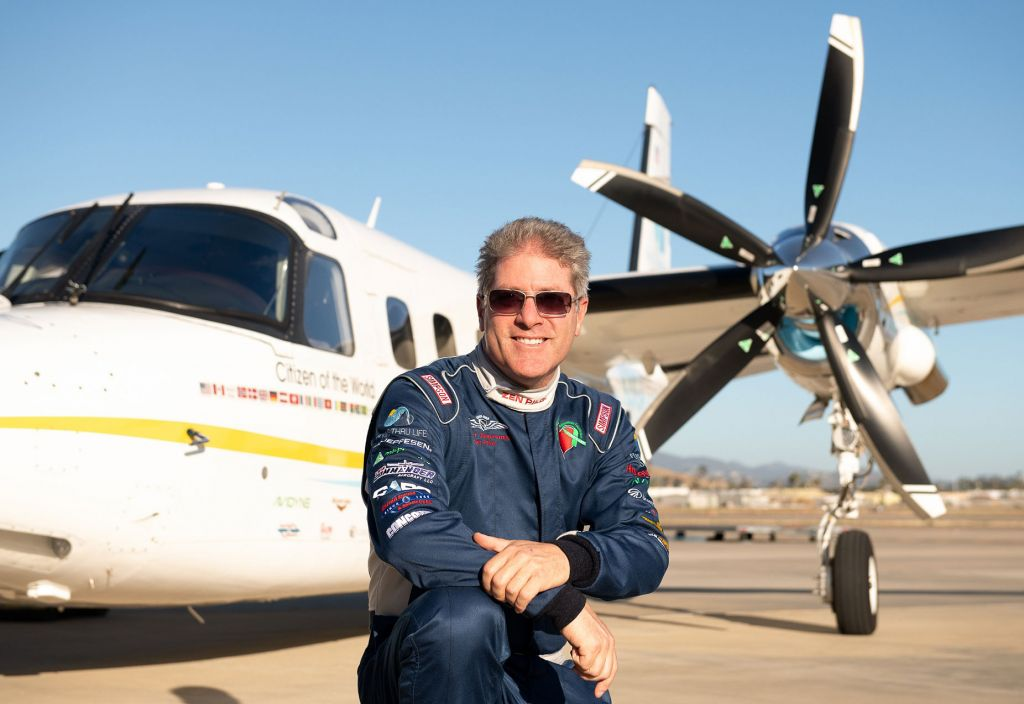 "Quarantined ""Peace Pilot"" Robert DeLaurentis is Still Fighting for Peace"