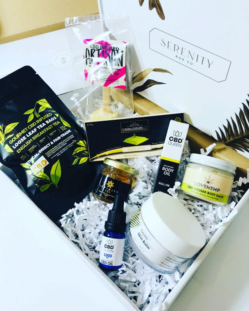 What's inside Serenity Box Co.'s subscription