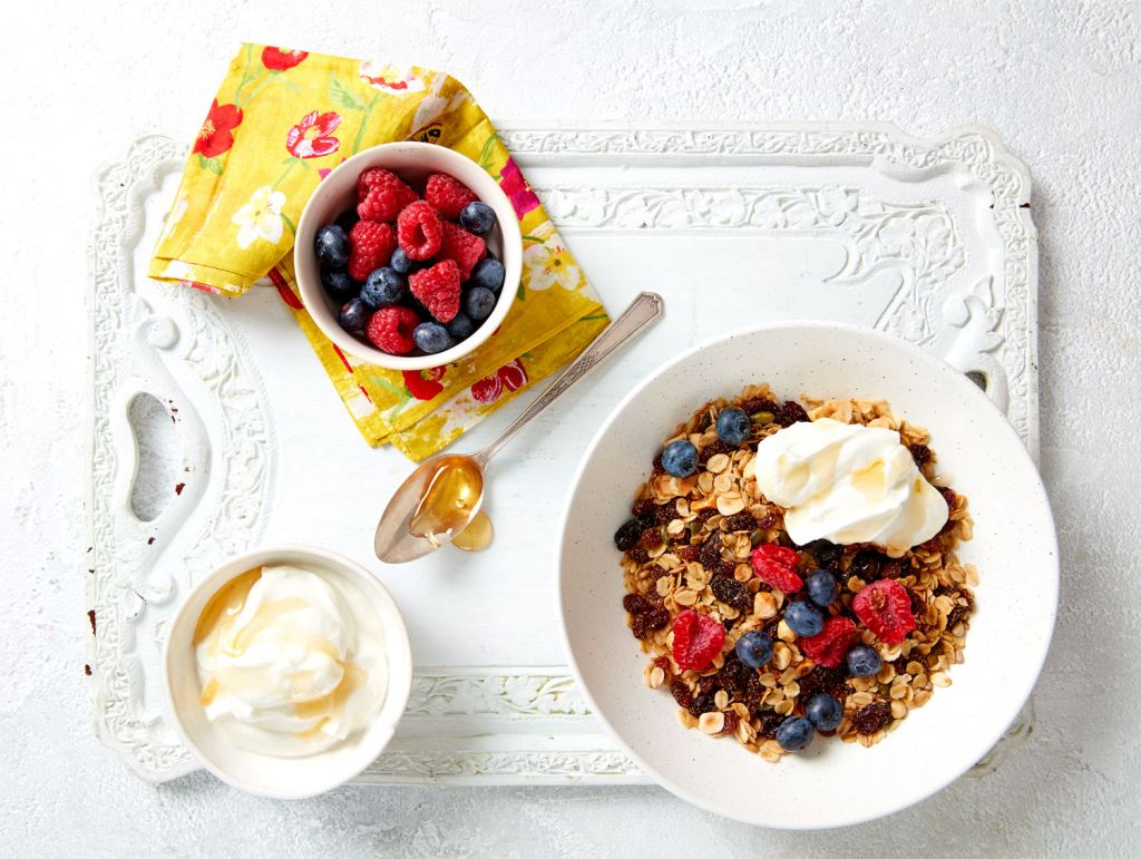 South African Raisin and Three-seed Granola