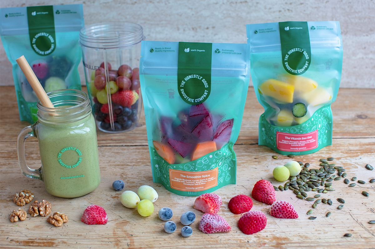 Healthy British Organic Frozen Smoothie Kits Delivered To Your Door