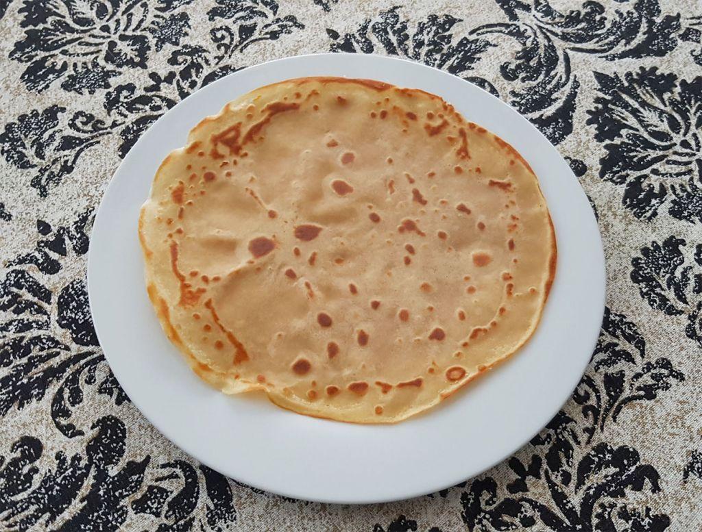 Pancakes made using Tobia Teff Flour