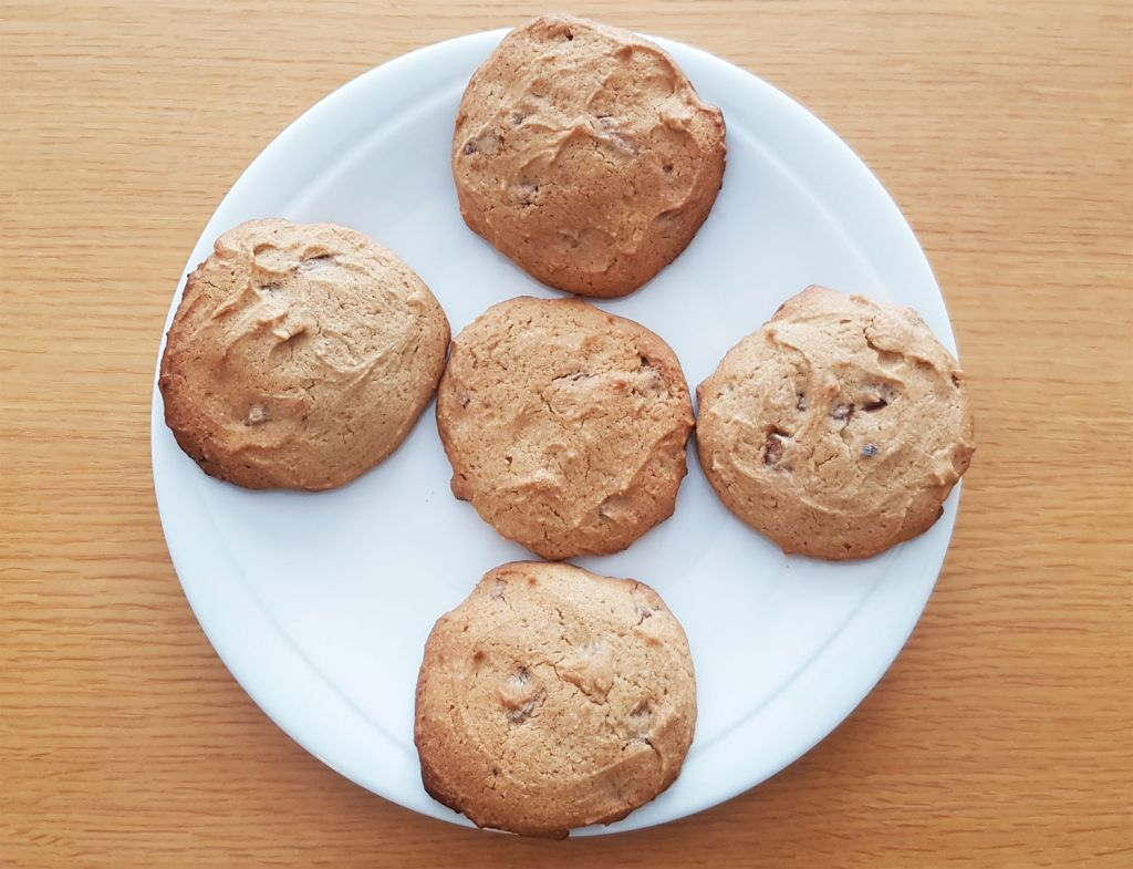 Chunky Chocolate Chip Cookies made using Tobia Teff Flour