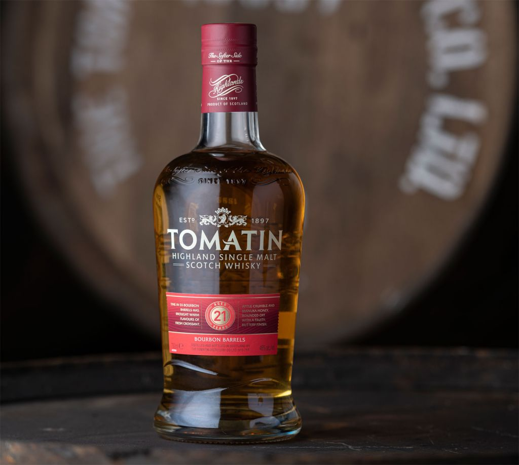 Tomatin 21 Year old Whisky