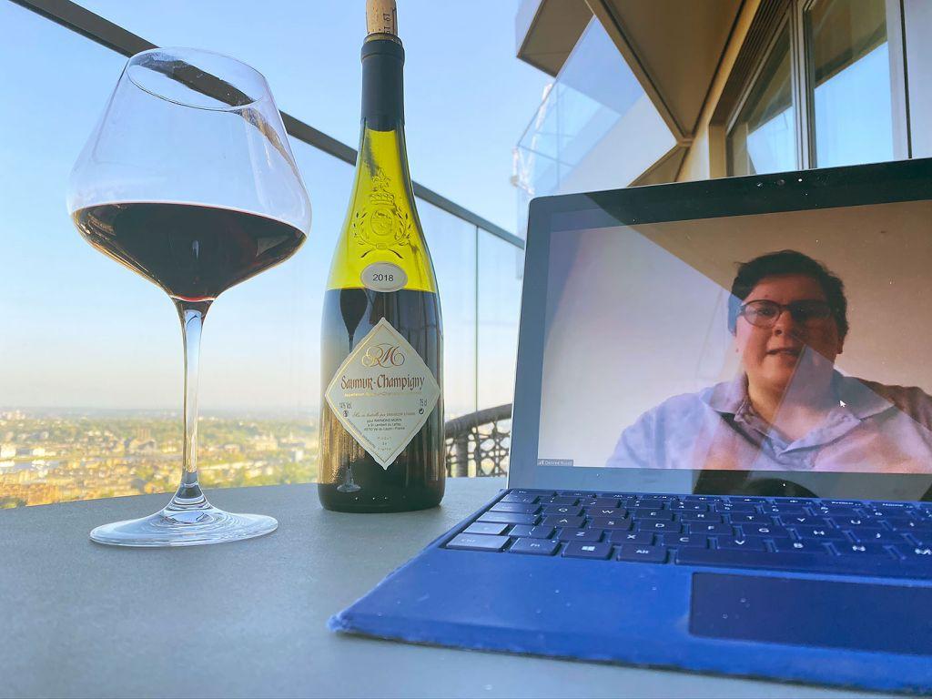 The Vertus virtual wine tasting evening