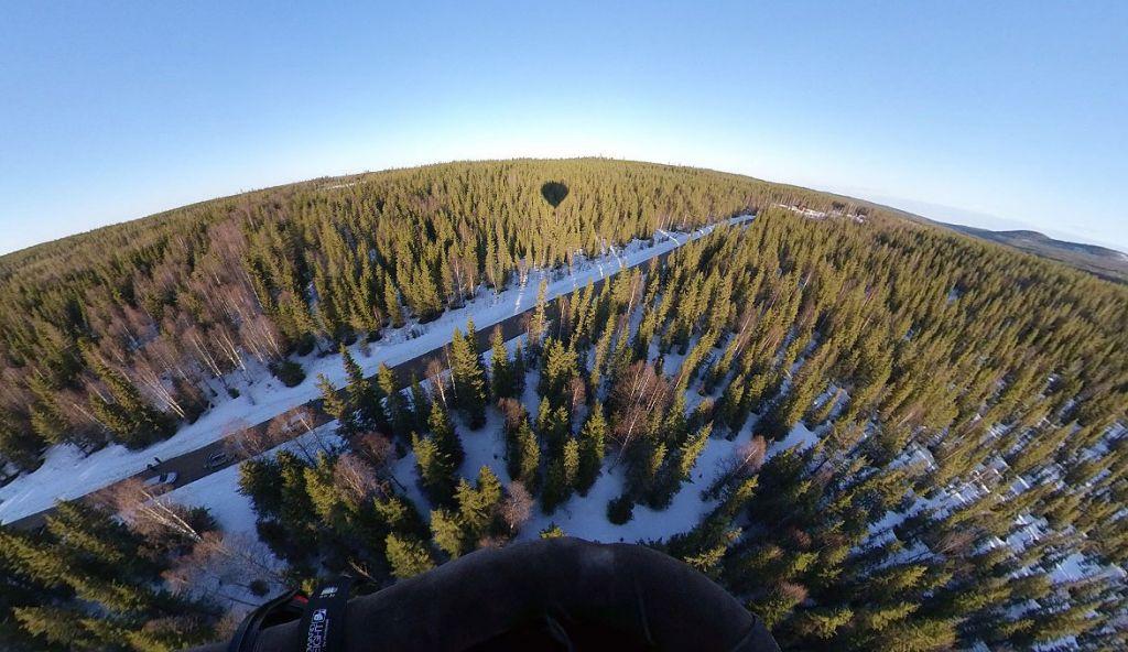 Arctic Hot Air Balloon flight