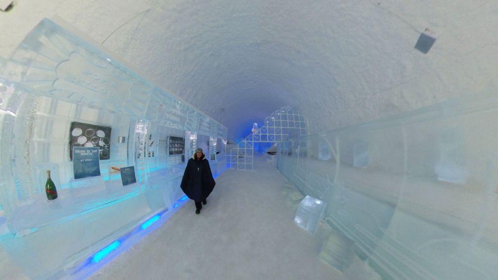 Experience the ICEBAR through virtual reality
