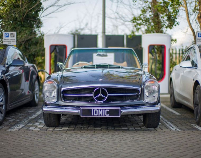 Ionic Cars Aims to Bring Classic Cars Back to the Future