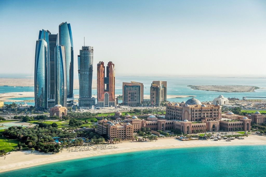 Abu Dhabi Corniche Skyline