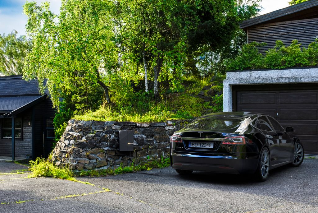 Andersen wall charger installed in Norway