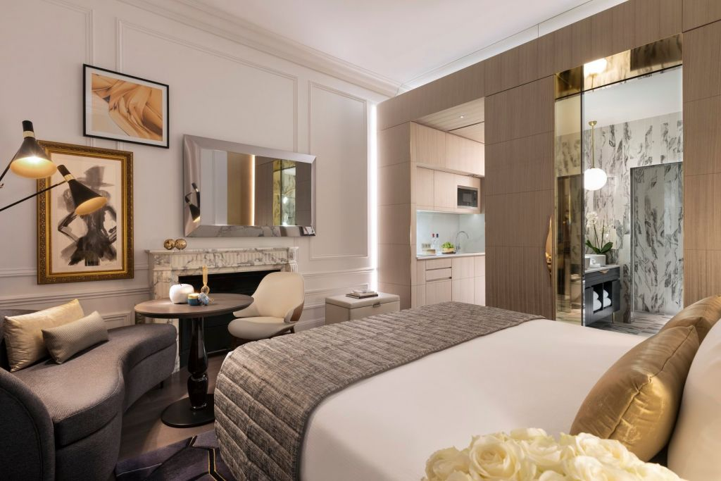 Inside an Ascott serviced apartment