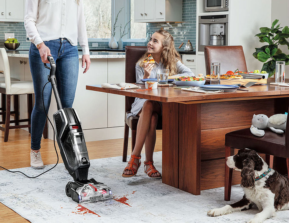 Bissell's Hydrowave Has the Power of a Full-size Carpet Washer in a Compact Body