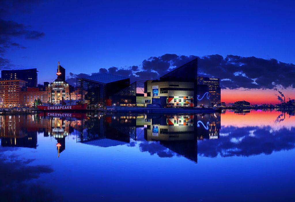 Baltimore at sunrise