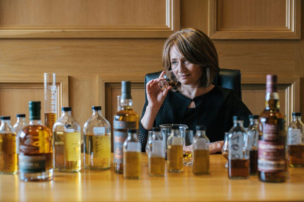 Dr Rachel Barrie, Master Blender for GlenDronach