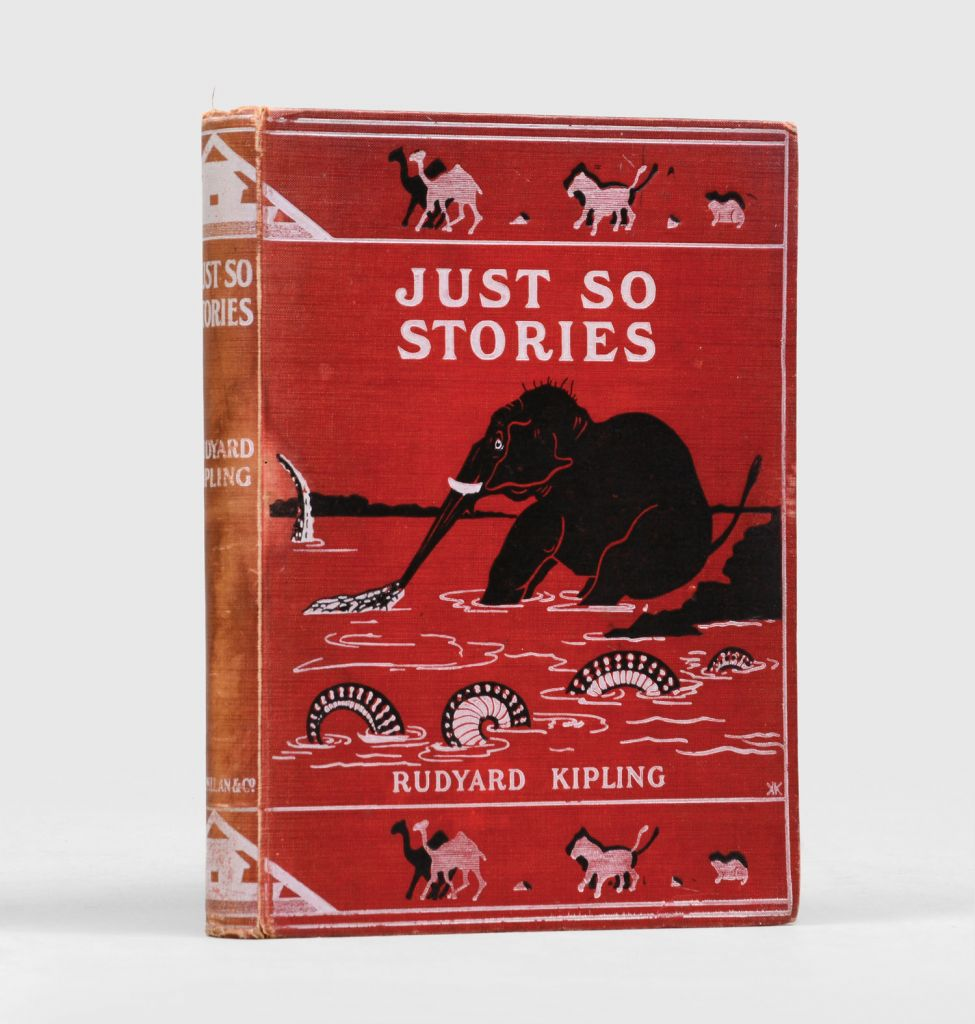First Edition Just So Stories For Little Children by Rudyard Kipling