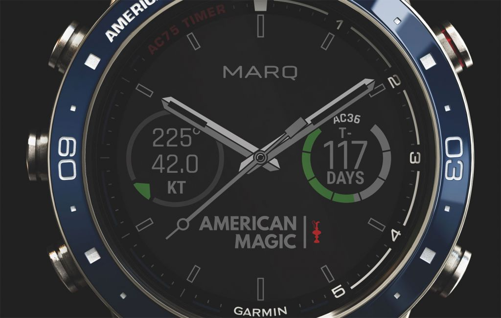 The MARQ Captain: American Magic Edition is tough