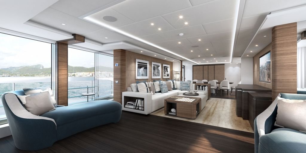 The main saloon inside Project Altea