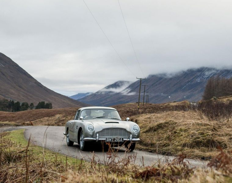 Aston Martin DB5 Production Resumes in the UK after 55-Years