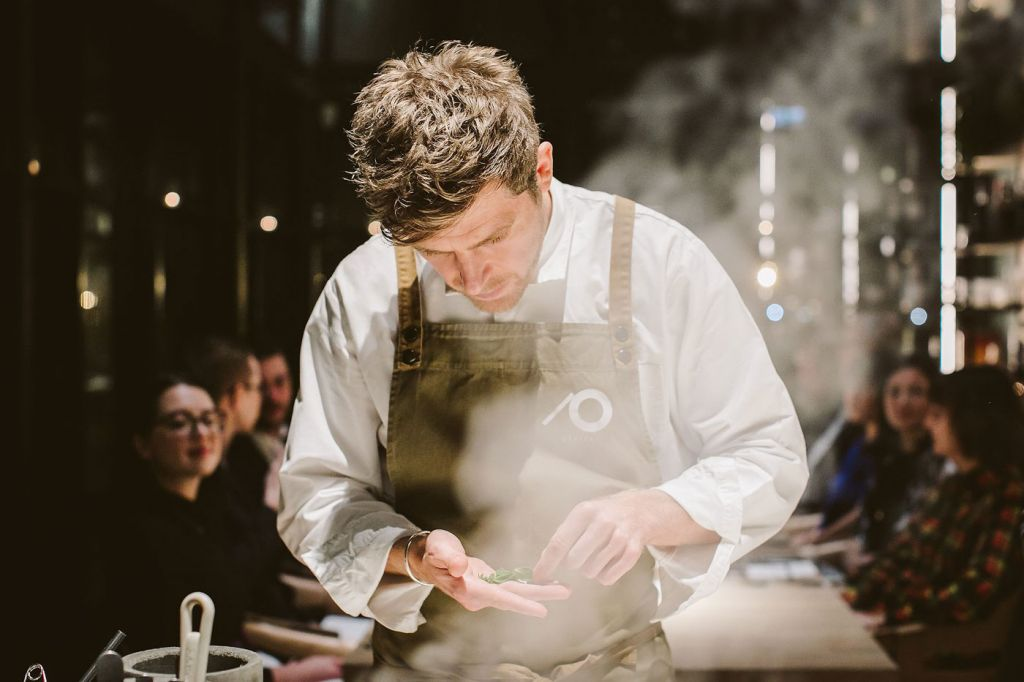 Kirk Haworth at Plates in Shoreditch