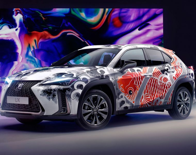 Lexus wants you to Tattoo a car