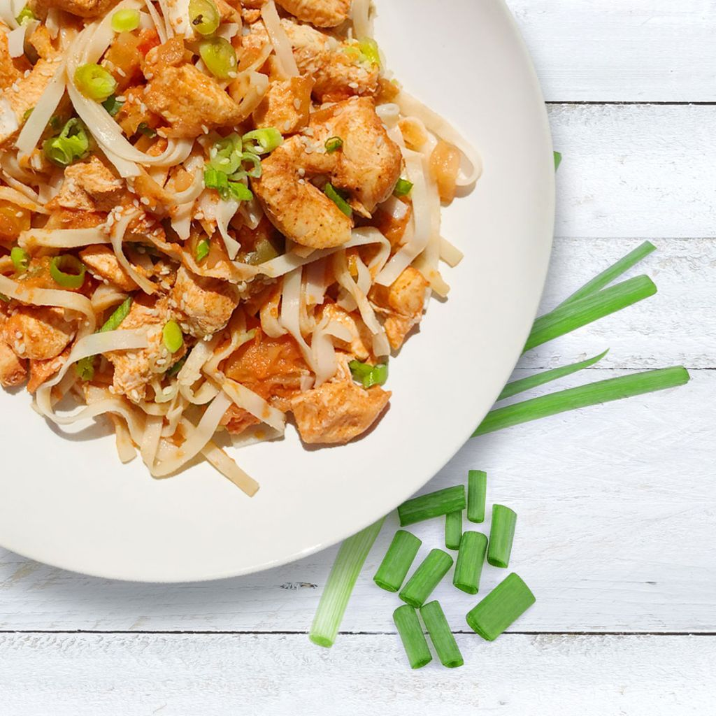 Love Yourself Sweet and sour chicken noodles