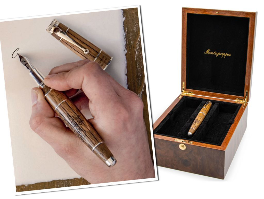Montegrappa Cognac Hors d'Age with presentation box