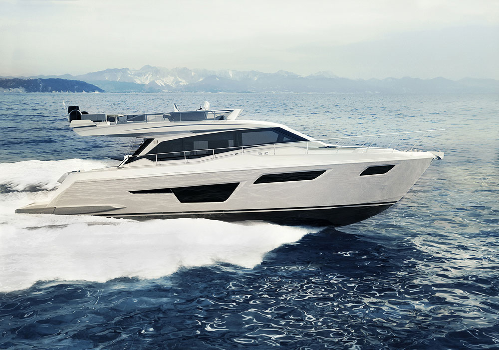 Ferretti 500 is Now Available in Both Classic and Contemporary Styles