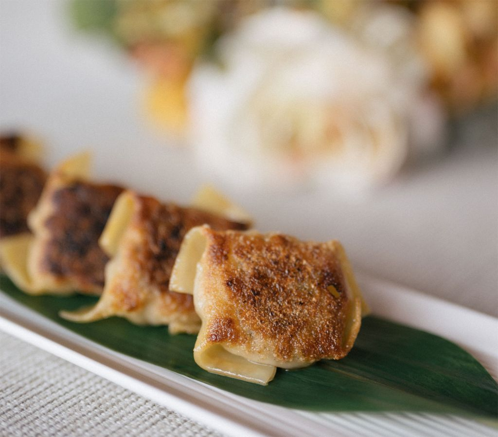 Nobu Wagyu Gyoza with Spicy Ponzu