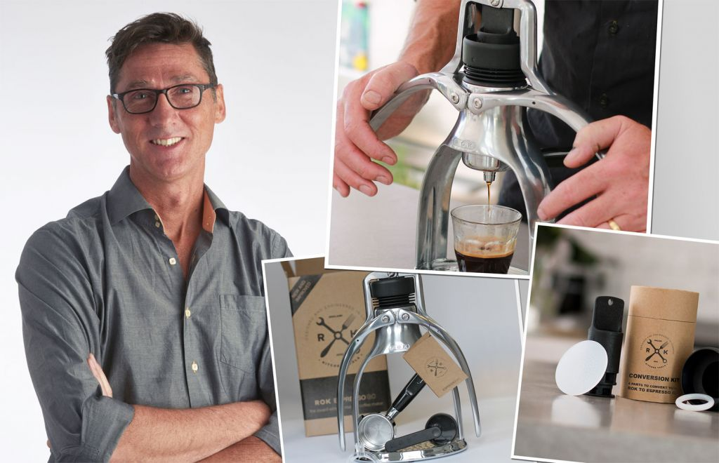 Exclusive Interview With Patrick Hunt, Founder Of ROK Coffee Products