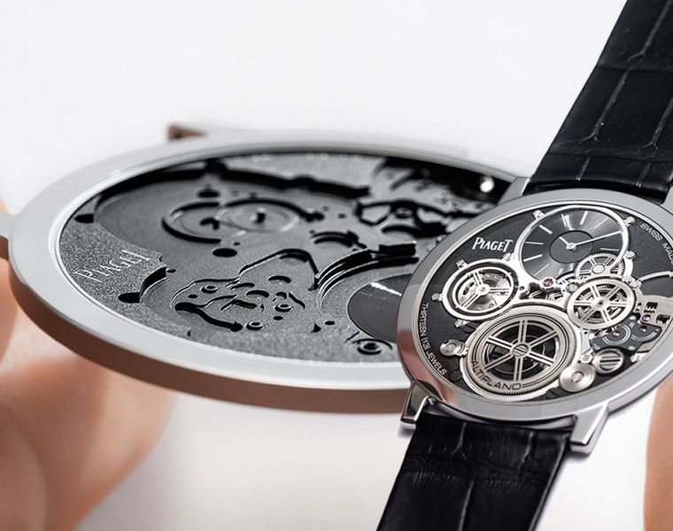 Chin Goes Thin with the Piaget Altiplano Ultimate Concept