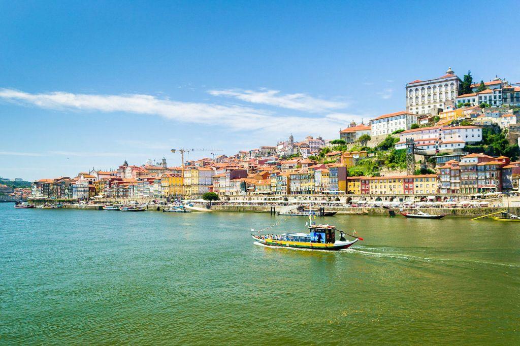 Rabello riverboat in Porto
