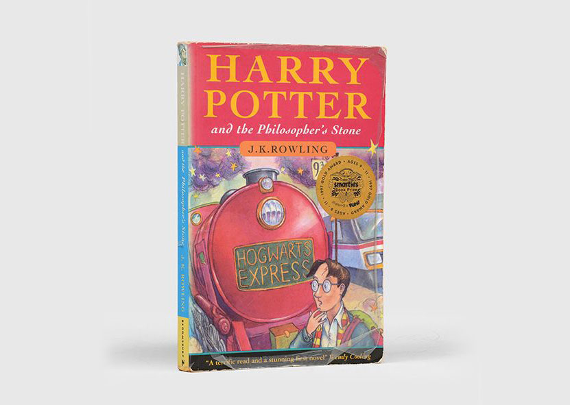 Signed first edition of Harry Potter and the Philosopher's Stone