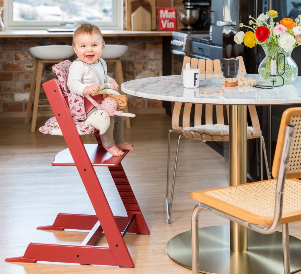 Stokke Tripp Trapp Chair in warm red