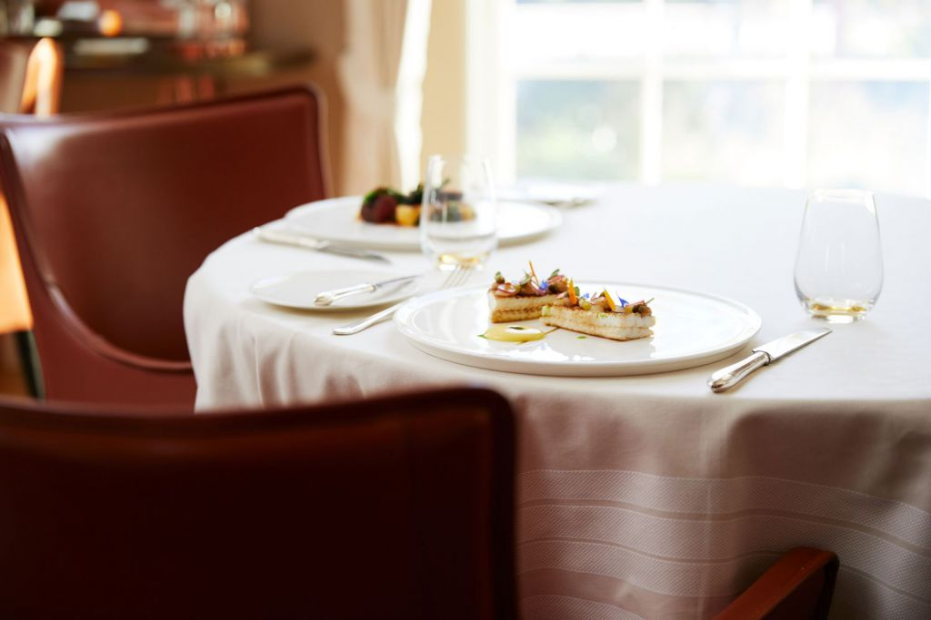 Table at the Restaurant Coworth Park