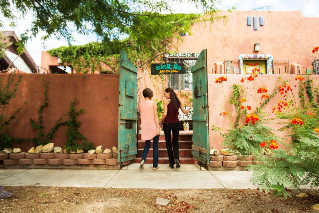 The Eclectic Flea in Tucson Arizona
