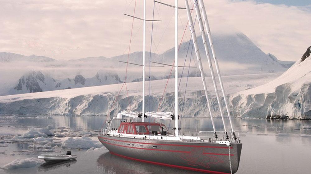 The Pelagic 77 mainsails