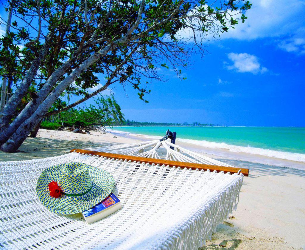 The beach at The Sarojin Thailand