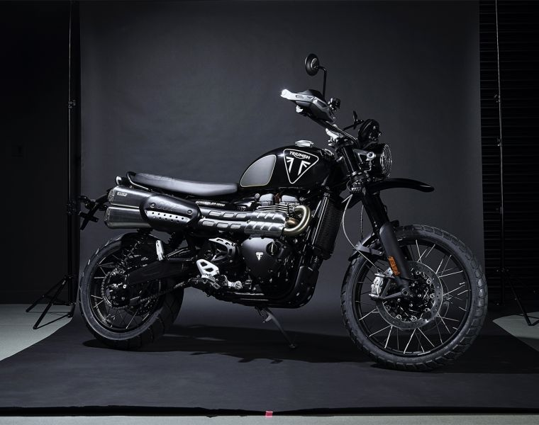 Triumph 1200 Scrambler Bond Edition