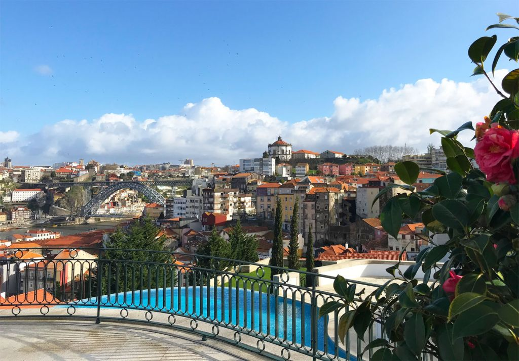 Views from the Yeatman in Porto