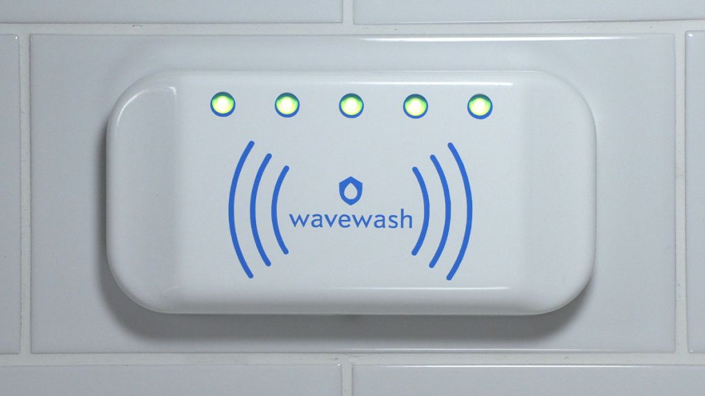 Wavewash is a simple gadget to help people wash their hands more thoroughly