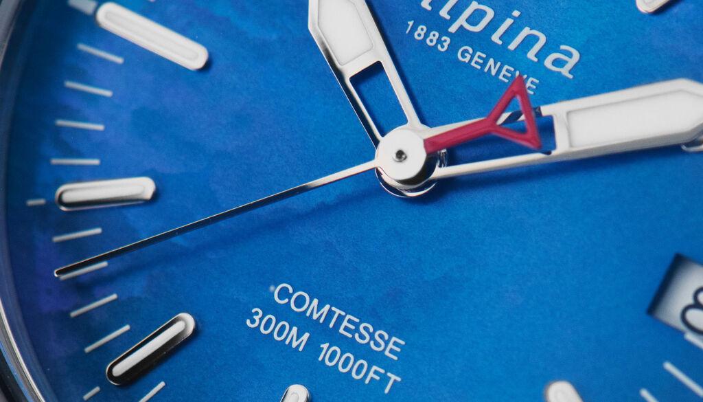 Alpina Seastrong Diver Comtesse Quartz dial