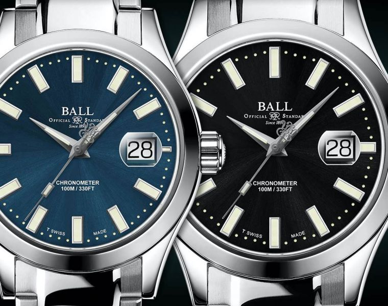 The Ball Watch Engineer III Marvelight Chronometer