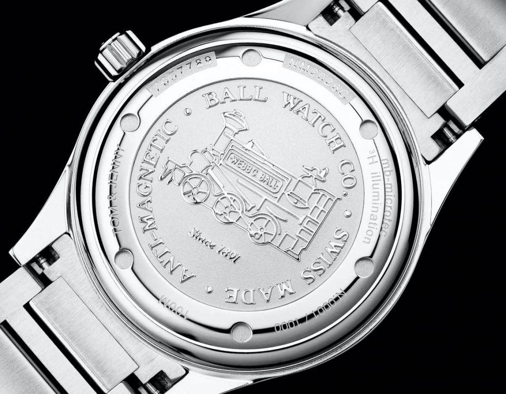 Ball Watch Engineer III Marvelight Chronometer case back