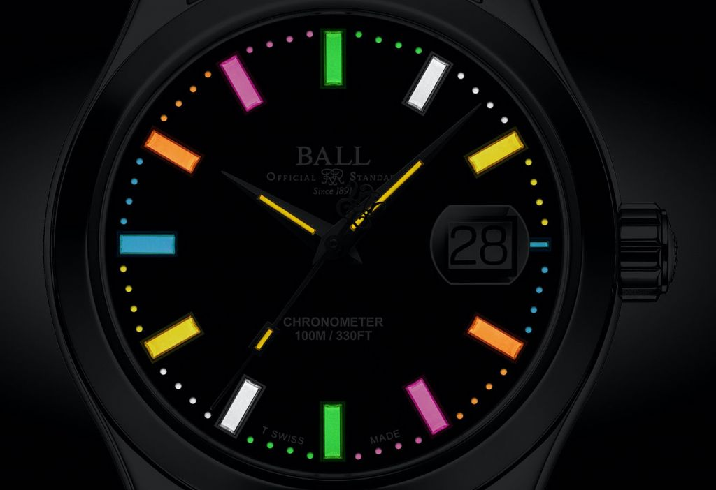 Ball Watch Engineer III Marvelight Chronometer multi-coloured dial