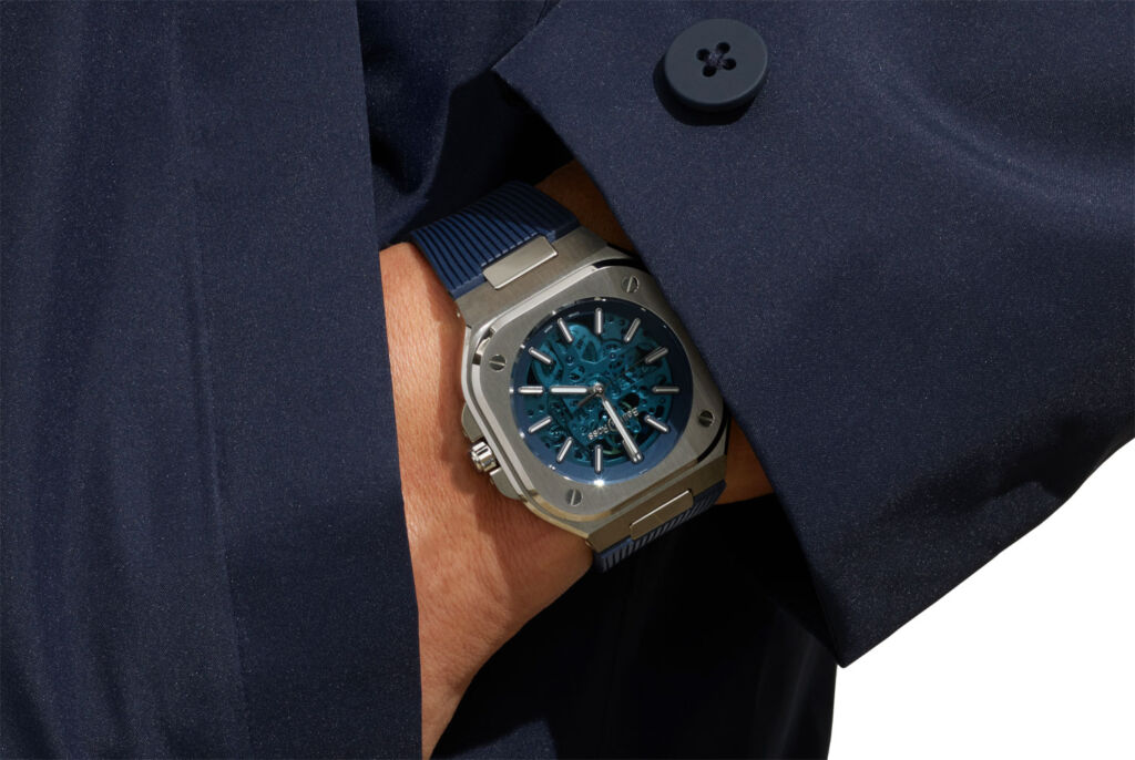 Blue World – the New Limited Edition Bell & Ross BR 05 Skeleton Blue