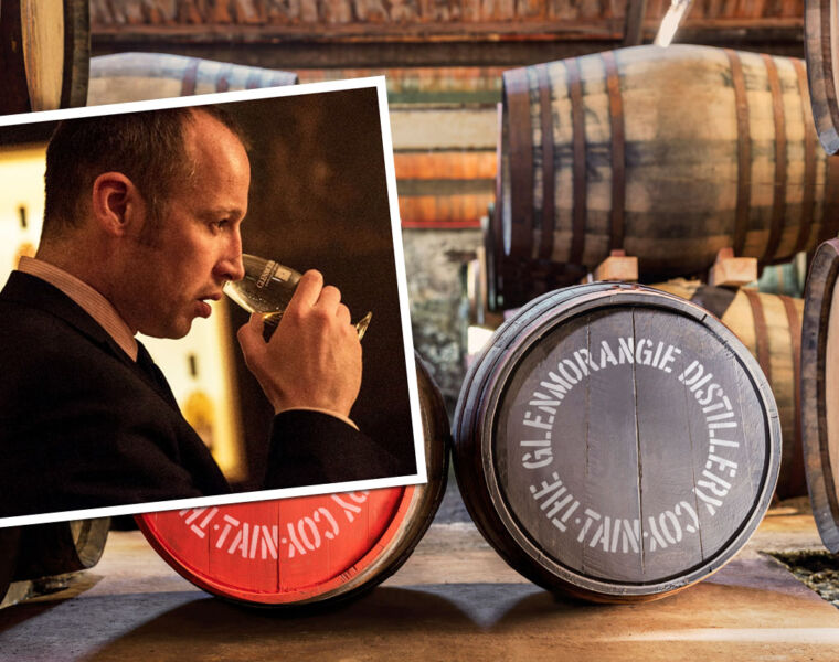 Brendan McCarron Head of Maturing Whisky Stocks Glenmorangie