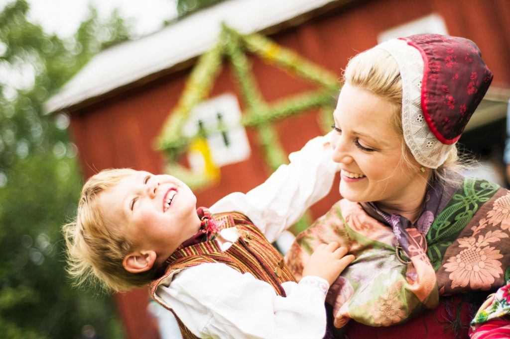 Celebrating Swedish Midsummer