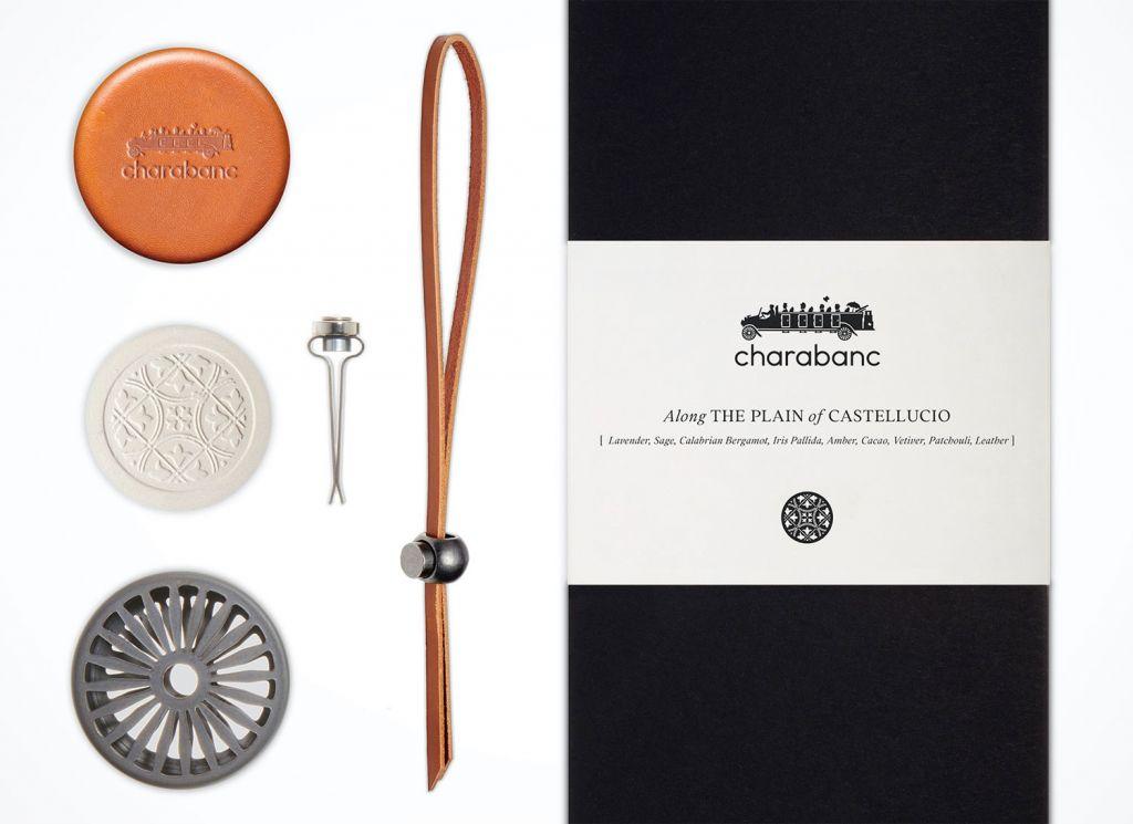 Charabanc luxury car fragrance kit