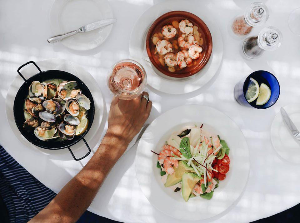 Dining at the Marbella Club